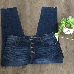 Time and Tru High Rise Skinny Jeans